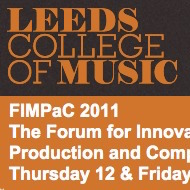AJ | Other | Research | Jansch to present at FIMPaC 2011